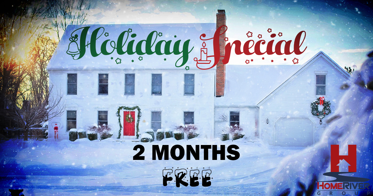 Holiday Special - 2 Month Free if you sign a contract before January 31, 2020